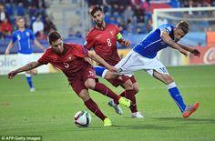 Italy U21 0-0 Portugal U21: Azzurrini must beat England to progress in Euro ... England U21  #EnglandU21