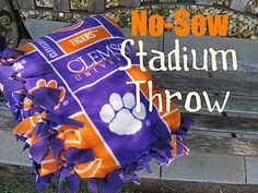 Clemson stadium throw!