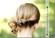 Hair twist tutorial. #hair #tutorial