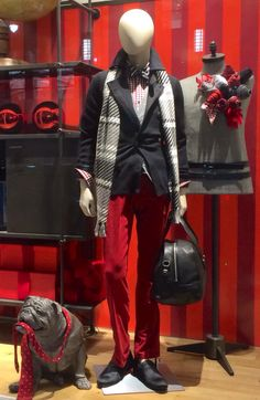 My styling for Christmas window...NYC !!