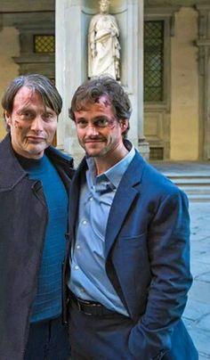 Mads Mikkelsen & Hugh Dancy