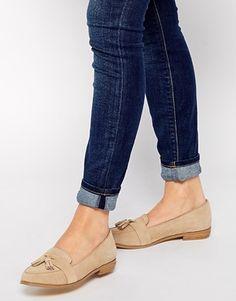 Enlarge ASOS MENTION Suede Loafers