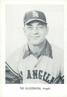 1961 Sports Service Los Angeles Angels #NNO Ted Kluszewski Front