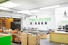 Halle Romande - local products  by zap-design, Switzerland
