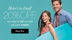 Happy Father's Day! Save 20% off sitewide +Free Shipping https://tseagraves.avonrepresentative.com/ #FathersDaySale #Avon