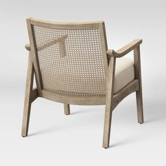 Chelmsford Cane Lounge Chair Natural - Threshold™ : Target Perfect Pillow, Seat Cushions, Rattan, Accent Chairs, Arm Chairs, Dining Chairs, Decor Styles, Living Spaces, Living Rooms