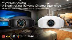 Sony 4K Home Cinema Projector, Home Cinemas, Tv, Display, Sony Tv, Projectors, Products, Floor Space, Billboard