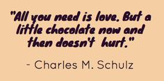 #Love #Chocolate #quote