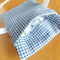 これからの季節の必需品、保冷剤ケース付きのランチベルトの作り方です。直線縫いだけで簡単に、そしてハギレで出来ますので、ぜひ作ってみてくださいね。縫い代も出ず、返し口も閉じない作り方です♪<出来上がりサイズ>・本体 約12×9cm・ゴム 約1