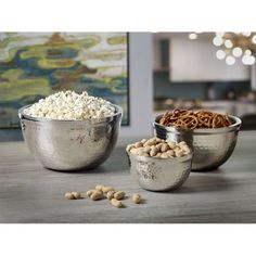 BirdRock Home Stainless Steel Serving Bowl Set 24.99 Walmart.com
