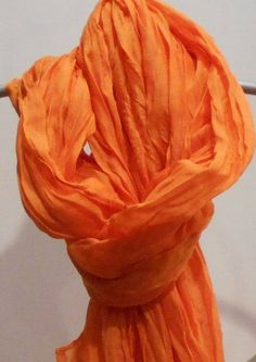 Your place to buy and sell all things handmade Chocolate Fashion, Orange Scarf, Paisley Scarves, Bridesmaid Gifts, Bridesmaids, Wedding Shawl, Wedding Wraps, Orange Fashion, Orange Fabric