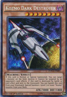 Kozmo Dark Destroyer DOCS-EN085 SECRET RARE