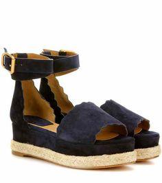 53fbe997e401 Lauren platform suede sandals
