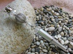 Kugelschreiber mit Krone und Schmuckperlen