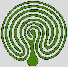 triple spiral labyrinth a labyrinth is an ancient symbol that rh pinterest com