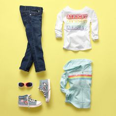Latest Jeans Top For - November 04 2018 at Teen Girl Fashion, Little Girl Fashion, Toddler Fashion, Kids Fashion, Toddler Girl Outfits, Kids Outfits, Cute Outfits, Fashionable Outfits, Levis