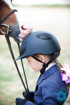 adorable: girl and her pony