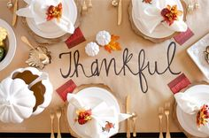 thanksgiving table & decor ideas   planning it all                                                                                                                                                                                 More