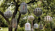 Ogród dobrze oświetlony -