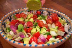 Mexican-Guacamole-Onion-Tomato-Lime-Salad-Party