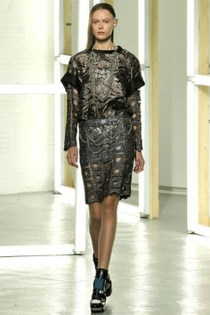 """""""Medieval and fantasy role-playing games"""" - Rodarte, Spring 2013, NY Fashion Week"""