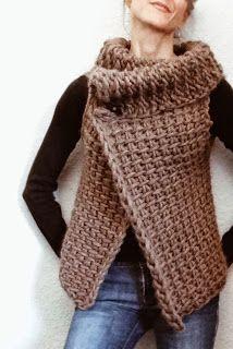 Magnum Reversible Vest (crochet)       Magnum Capelet No. 4 (crochet)       Crochet Brioche Sweater      The (crochet) Montreal     The T...