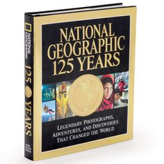 The Best Of National Geographic - Hammacher Schlemmer - Nearly 400 pages -- and 350 color photos -- from 125 years of #NatGeo