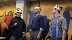 """Raise a glass to freedom… and the King Georges.   Community Post: The Kings Of """"Hamilton"""" Did A Gender-Swapped Version Of """"Schuyler Sisters"""""""