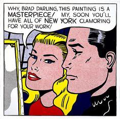 Roy Lichtenstein 1962 - MASTERPIECE - Oil on canvas (137 x 137 cm)
