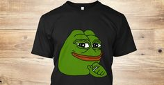 Discover Pepe The Frog T-Shirt, a custom product made just for you by Teespring. With world-class production and customer support, your satisfaction is guaranteed.