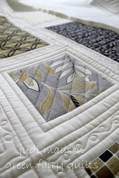 Like this style for the modern quilt.