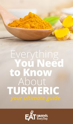 Everything You Need to Know About Turmeric: Your Ultimate Guide (64 Guides Included) #turmeric #healthylifestyle