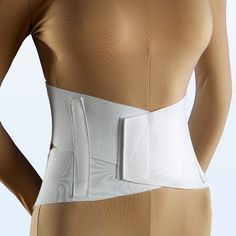 Criss Cross Lumbosacral Support in White Size: Large 34' - 38', Model: None *** Want additional info? Click on the image.