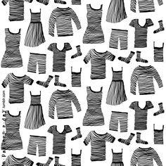 a pattern a day : zebra clothing