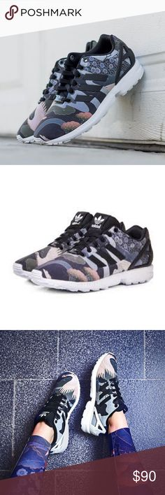 Adidas Rita Ora ZX Flux Asian Sneakers 8 These are a size 7.5 but these run a half size bigger fit 8 perfectly. Great condition only worn twice.  From her sold out limited edition collection..rare & hard to find adidas Shoes