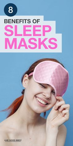 Sleep Masks are the perfect essential accessory to finding more sleep each night! They may be small in size but the benefits are huge! #SleepHealth #SleepMasks #SleepHabits #SleepBenefits