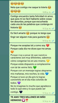 Love Boyfriend, Gifts For My Boyfriend, Love Phrases, Love Words, Cute Spanish Quotes, Tumblr Love, Cute Love Memes, Cute Messages, Love Text