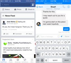 Facebook Forces Users Worldwide To Download Messenger For Mobile Chat.