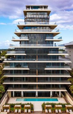 Home Structure, Downtown Miami, Four Seasons Hotel, Ceiling Windows, Pent House, Luxury Apartments, Architectural Digest, Condominium