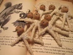 Феи Nest - OOAK куклы ткани и волокна Фантазии
