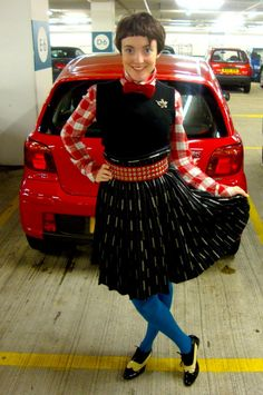 what katie wore in the waitrose car park