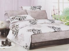 """Serene Twin XL Comforter & Sham by College Ave. $67.88. 68"""" x 90"""". Simple Floral Patterns. High Quality Comforter. 100% Cotton. This comforter is perfect for dorm beds, or even your twin bed at home, and comes in an understated floral design!"""