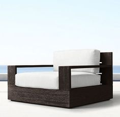 Marbella Teak Coffee (Outdoor Furniture CG) | RH