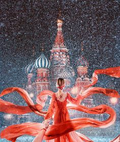 Follow me to the magical Red Square