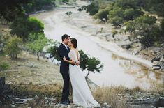 Dreamy Wedding in a River: Lauren & Andrew