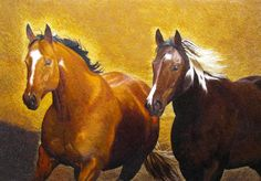 Pair of Arabian Horses #Beautiful #Handmade #Silk #Embroidery #Art 74083 http://www.queensilkart.com/100-handmade-embroidery-framed-wildlife-animal-arabian-horses-74083/ In Feng Shui, horses are symbols of fire, fame & success. Symbolically, horses bring good things on their backs and are a good luck charm for a speedy and successful outcome.