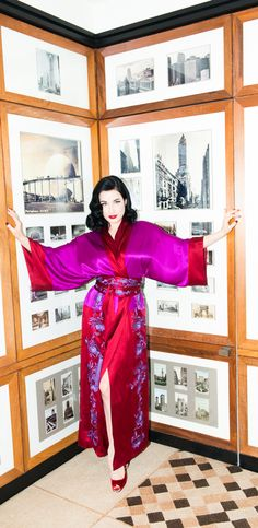 Dita Von Teese photographed at Thr Carlyle, New York City, for The Coveteur. Christina Aguilera Movies, Dita Von Teese Burlesque, Dita Von Tease, Costume, Lingerie, Girl Dancing, Celebs, Celebrities, American