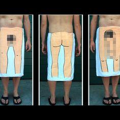 Dick towel...everyones gotta have one