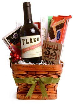 http://www.seacoastkidscalendar.com/ A beautiful wine gift basket, YUM!
