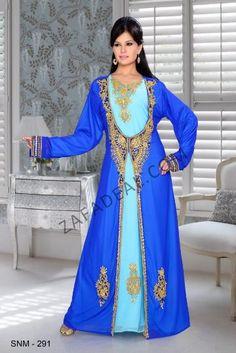 Buy Moroccan kaftan Dubai hijab women wedding wear long dress SNM 291